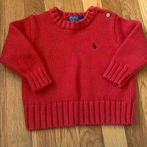 Ralph Lauren Crew Neck Sweater